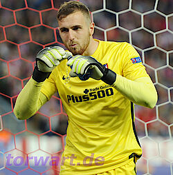 Jan Oblak in starker Form (Foto: firo)