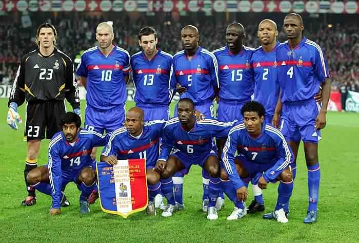 französische nationalmannschaft 2006